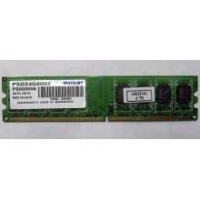 Модуль оперативной памяти 4Gb DDR2 Patriot PSD24G8002 pc-6400 (800MHz)  (Батайск)