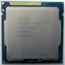 Процессор Intel Celeron G1620 (2x2.7GHz /L3 2048kb) SR10L s.1155 (Батайск)