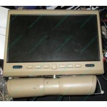 Автомобильный монитор с DVD-плейером и игрой AVIS AVS0916T бежевый (Батайск)
